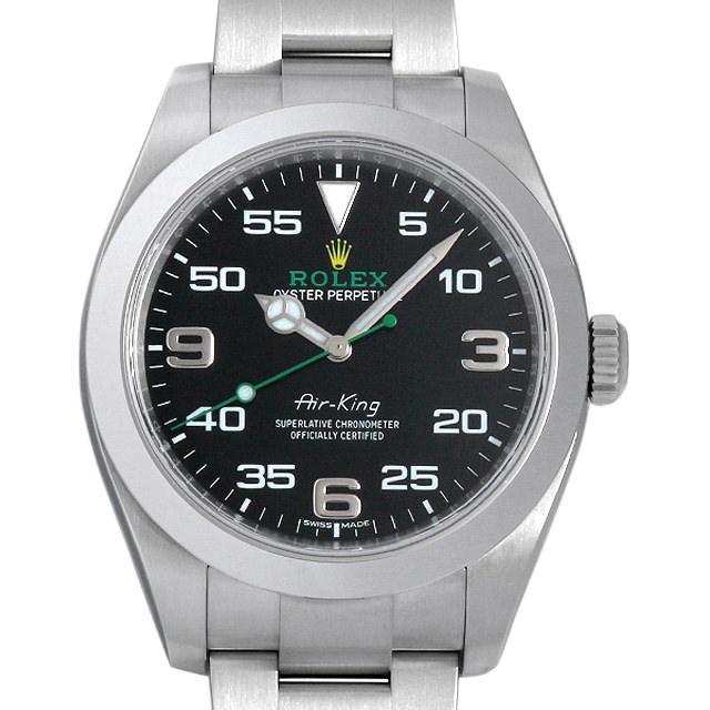 【48回払いまで無金利】SALE ロレックス エアキング 116900 メンズ(009MROAU0147)【中古】【腕時計】【送料無料】