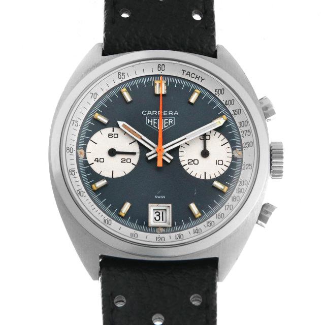 【48回払いまで無金利】タグホイヤー カレラ クロノグラフ 73453 メンズ(009VTHAA0001)【アンティーク】【腕時計】【送料無料】
