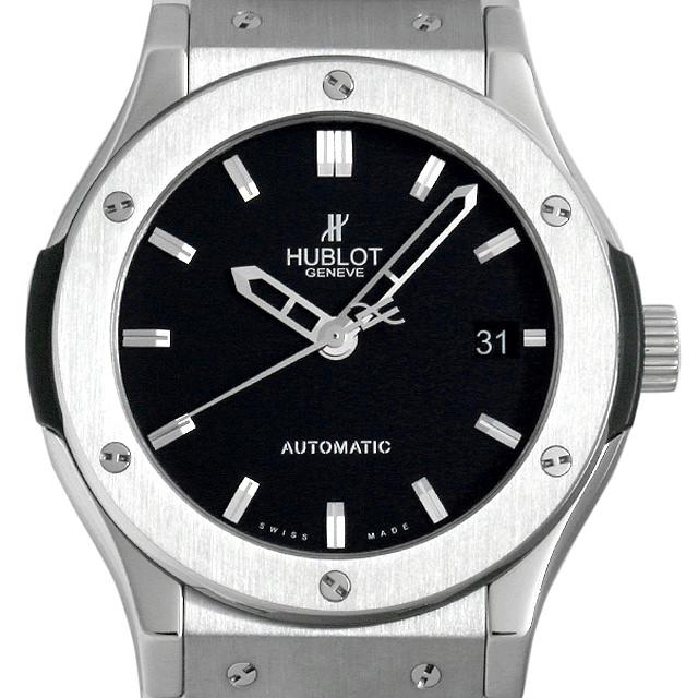【48回払いまで無金利】ウブロ クラシックフュージョン ジルコニウム 511.ZX.1170.NX メンズ(0A89HBAU0001)【中古】【腕時計】【送料無料】
