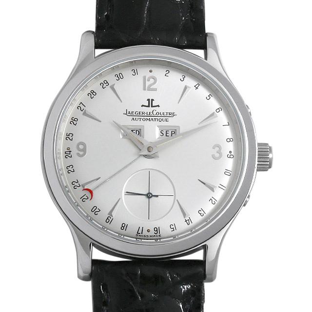 【48回払いまで無金利】ジャガールクルト マスターデイト Q147842A メンズ(0BCCJLAU0004)【中古】【腕時計】【送料無料】