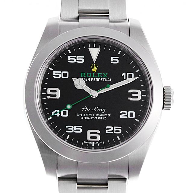 【48回払いまで無金利】SALE ロレックス エアキング 116900 メンズ(0ESQROAU0001)【中古】【腕時計】【送料無料】