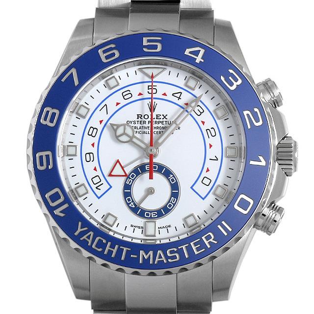 【48回払いまで無金利】ロレックス ヨットマスターII 116680 最新型 メンズ(0CCTROAN0030)【新品】【腕時計】【送料無料】
