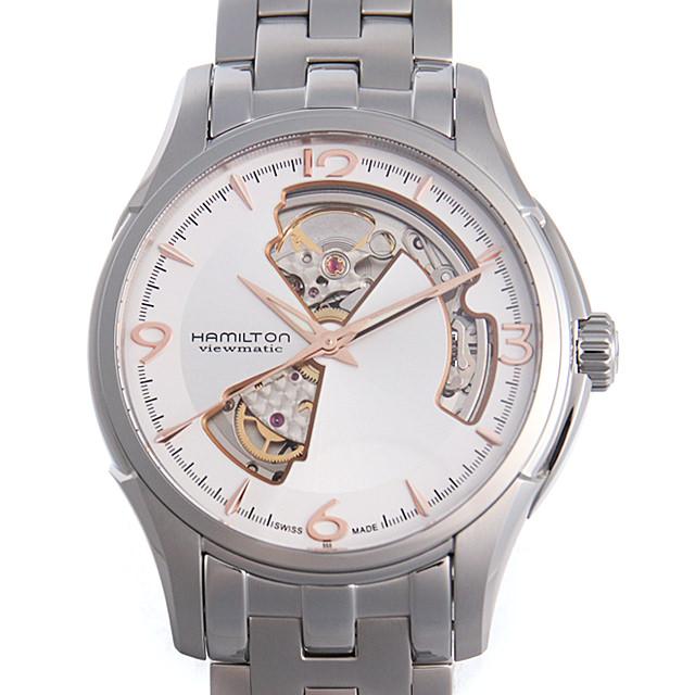 【48回払いまで無金利】ハミルトン ジャズマスター オープンハート H32565155 メンズ(006THMAN0156)【新品】【腕時計】【送料無料】