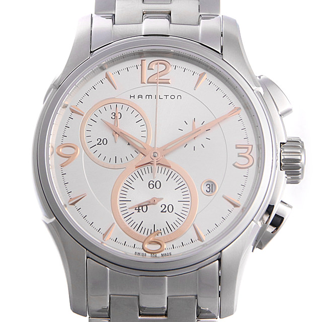 【48回払いまで無金利】ハミルトン ジャズマスター クロノ クォーツ H32612155 メンズ(006THMAN0103)【新品】【腕時計】【送料無料】