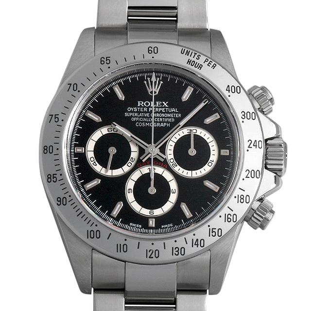 【48回払いまで無金利】ロレックス コスモグラフ デイトナ A番 16520 ブラック メンズ(001HROAU0176)【中古】【腕時計】【送料無料】