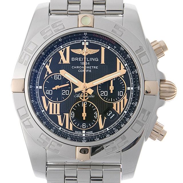 【48回払いまで無金利】ブライトリング クロノマット44 ビコロ B011B57PA(IB0110) メンズ(006XBRAU0092)【中古】【腕時計】【送料無料】