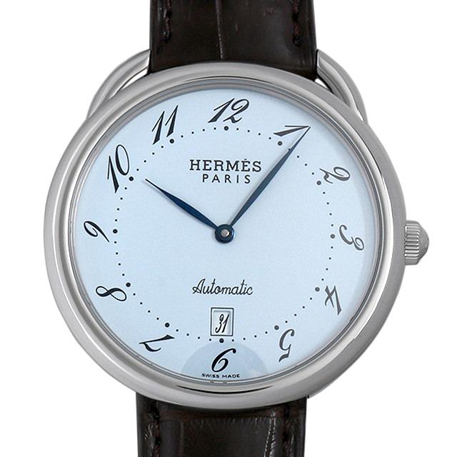【48回払いまで無金利】エルメス アルソー AR4.810 メンズ(006XHEAU0007)【中古】【腕時計】【送料無料】