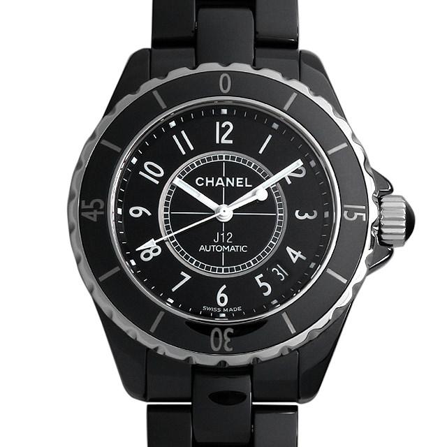 【48回払いまで無金利】シャネル J12 黒セラミック H0685 メンズ(007UCHAU0030)【中古】【腕時計】【送料無料】