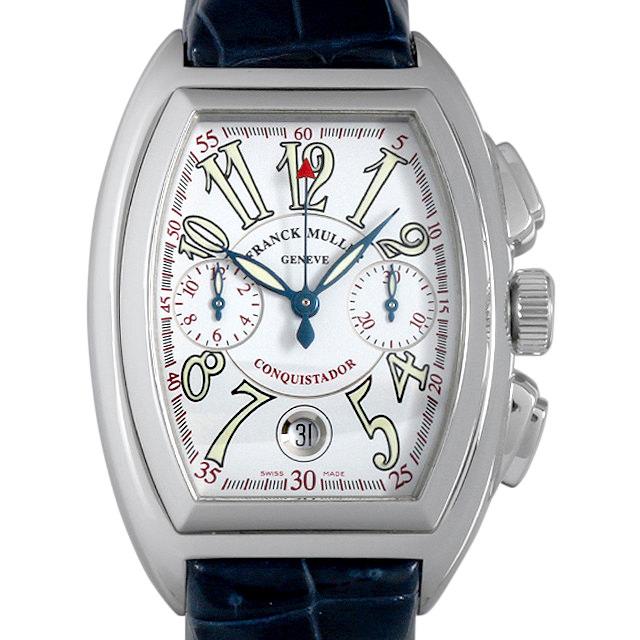 【48回払いまで無金利】フランクミュラー コンキスタドール クロノグラフ CONQUSTADOR CC AC メンズ(007UFRAU0123)【中古】【腕時計】【送料無料】