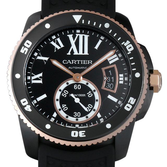 【48回払いまで無金利】カルティエ カリブル ドゥ カルティエ ダイバー W2CA0004 メンズ(008KCAAU0045)【中古】【腕時計】【送料無料】