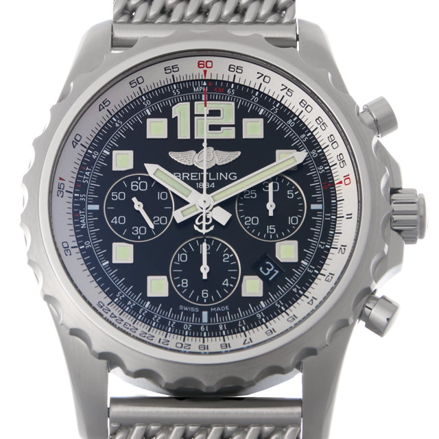 【48回払いまで無金利】ブライトリング プロフェッショナル クロノスペースオートマチック A236B68PSS(A23360) メンズ(0A89BRAU0010)【中古】【腕時計】【送料無料】
