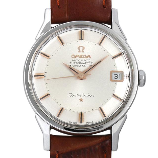 【48回払いまで無金利】オメガ コンステレーション クロノメーター Cal.561 168.005 パイパンダイアル メンズ(0BCCOMAA0006)【アンティーク】【腕時計】【送料無料】