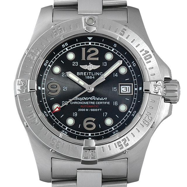 【48回払いまで無金利】ブライトリング エアロマリン スーパーオーシャン スティールフィッシュ X-プラス A179B72PRS(A17390) メンズ(0DF7BRAU0001)【中古】【腕時計】【送料無料】