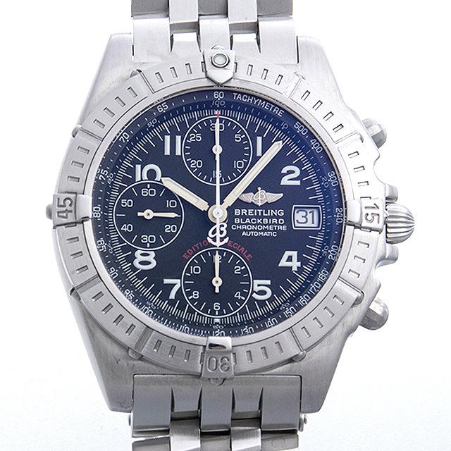 【48回払いまで無金利】ブライトリング クロノマット ブラックバード A140BLAPAS(A13353) メンズ(0EQDBRAU0001)【中古】【腕時計】【送料無料】
