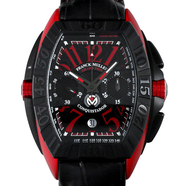 【48回払いまで無金利】SALE フランクミュラー コンキスタドール グランプリ エルガ 8900CCJ ER メンズ(0F47FRAU0001)【中古】【腕時計】【送料無料】