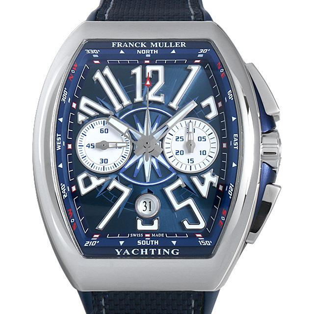 【48回払いまで無金利】フランクミュラー ヴァンガード ヨッティング クロノグラフ V45 CC DT YACHTING ACBL メンズ(0066FRAN0025)【新品】【腕時計】【送料無料】