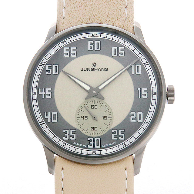 【48回払いまで無金利】ユンハンス マイスター ドライバー ハンドワインド 027/3608.00 メンズ(006TJUAN0070)【新品】【腕時計】【送料無料】
