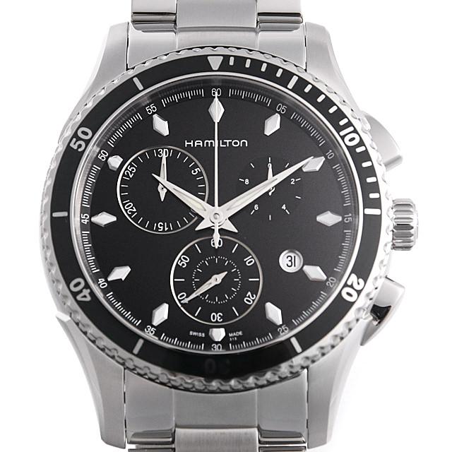 【48回払いまで無金利】ハミルトン ジャズマスター シービュー クロノ クォーツ H37512131 メンズ(006THMAN0073)【新品】【腕時計】【送料無料】