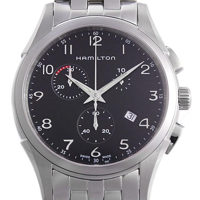 【48回払いまで無金利】ハミルトン ジャズマスター シンライン クロノ クォーツ H38612133 メンズ(006THMAN0056)【新品】【腕時計】【送料無料】