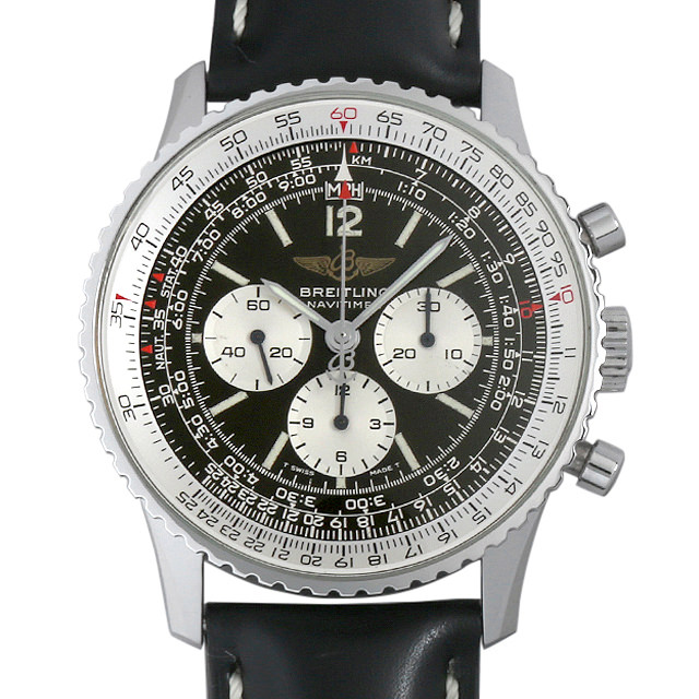 【48回払いまで無金利】ブライトリング ナビタイマー 81600 メンズ(006XBRAU0091)【中古】【腕時計】【送料無料】