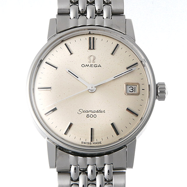 【48回払いまで無金利】オメガ シーマスター600 Cal.611 ST136.011 メンズ(006XOMAA0033)【アンティーク】【腕時計】【送料無料】