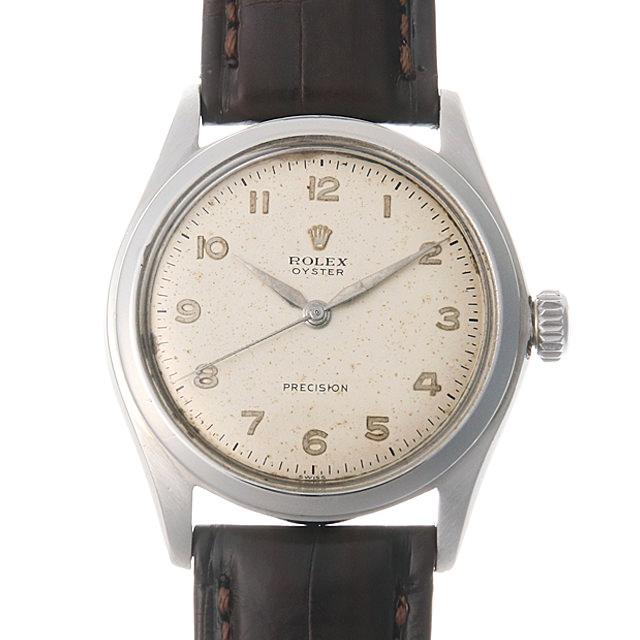 【48回払いまで無金利】ロレックス オイスター 4499 シルバー/アラビア メンズ(006XROAA0099)【アンティーク】【腕時計】【送料無料】