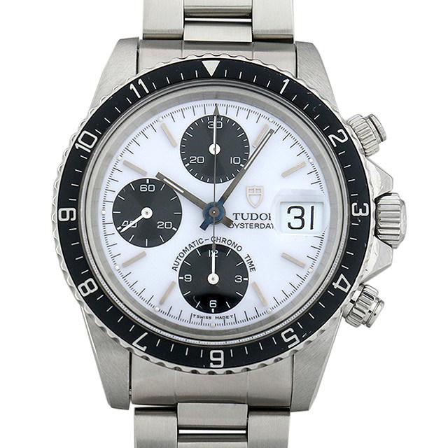 【48回払いまで無金利】チュードル クロノタイム 79170 ホワイト メンズ(006XTUAU0031)【中古】【腕時計】【送料無料】