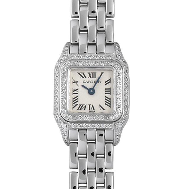【48回払いまで無金利】カルティエ ミニパンテール 2重ダイヤ WF3210F3 レディース(007UCAAU0100)【中古】【腕時計】【送料無料】