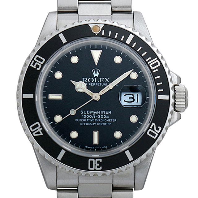 【48回払いまで無金利】ロレックス サブマリーナ デイト R番 168000 トリプルゼロ メンズ(007UROAU0302)【中古】【腕時計】【送料無料】