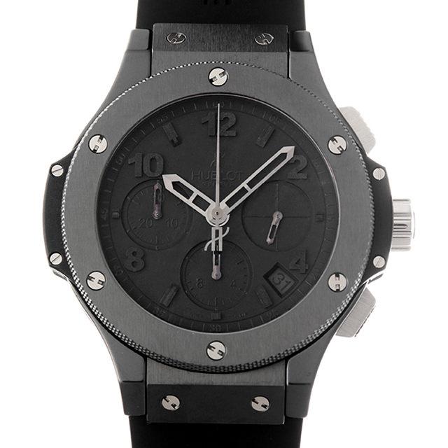 【48回払いまで無金利】ウブロ ビッグバン オールブラック 341.CX.134.RX メンズ(008WHBAU0049)【中古】【腕時計】【送料無料】