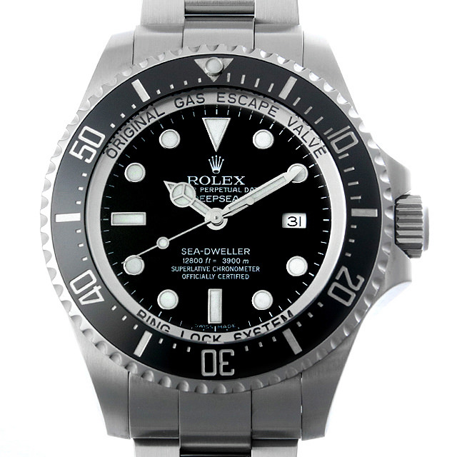 【48回払いまで無金利】SALE ロレックス ディープシー ランダムシリアル 116660 ブラック メンズ(02BTROAU0002)【中古】【腕時計】【送料無料】