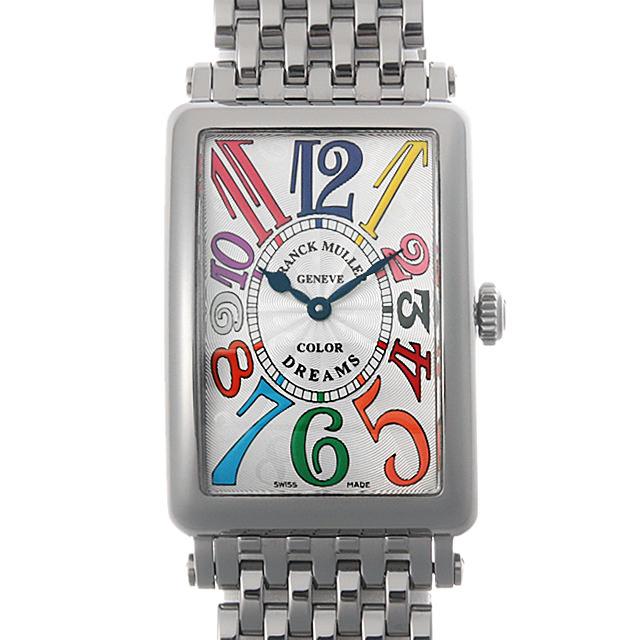 【48回払いまで無金利】SALE フランクミュラー ロングアイランド カラードリームス 952QZ CD OAC レディース(059KFRAU0002)【中古】【腕時計】【送料無料】