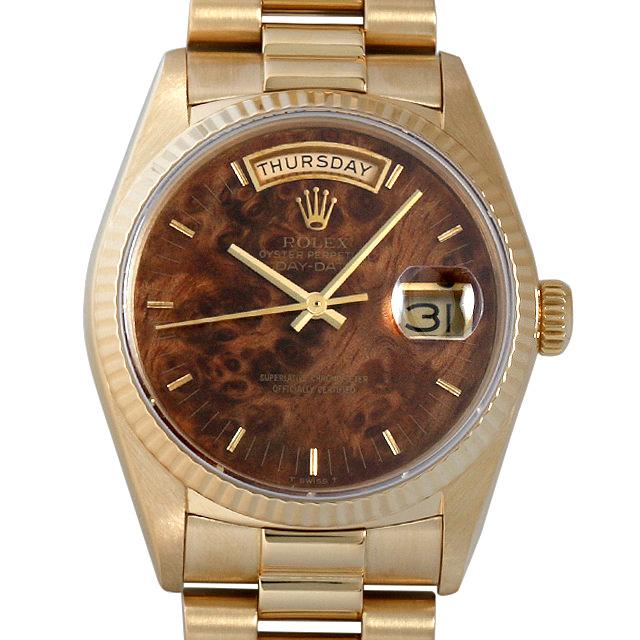 【48回払いまで無金利】ロレックス デイデイト 93番 18038 MAHOGANY マホガニー メンズ(05Y6ROAU0004)【中古】【腕時計】【送料無料】
