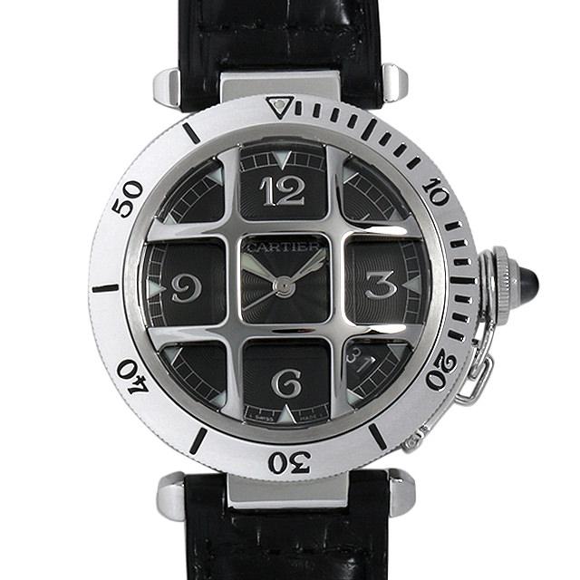 【48回払いまで無金利】カルティエ パシャ N950 グリッド W3106255 メンズ(0A89CAAU0015)【中古】【腕時計】【送料無料】