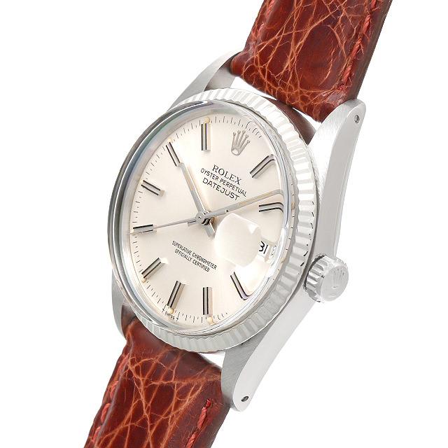 bc5aa107e8f1 【48回払いまで無金利】SALE ロレックス デイトジャスト 16014 シルバー/バー メンズ(0F2LROAU0001)【中古】【腕時計】【送料無料】  71番-メンズ腕時計