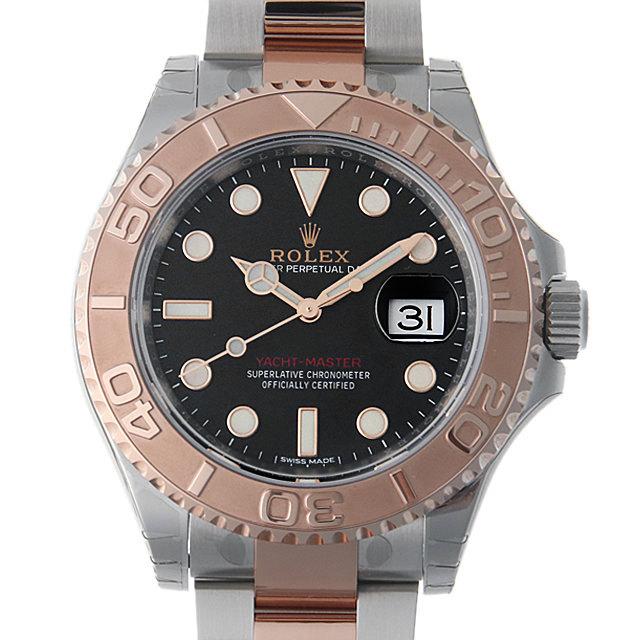 【48回払いまで無金利】ロレックス ヨットマスター40 116621 ブラック メンズ(0CHJROAN0011)【新品】【腕時計】【送料無料】