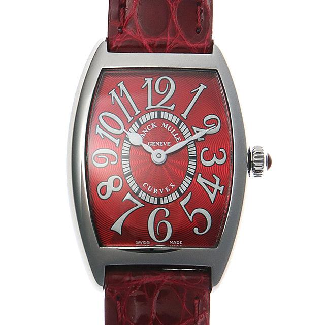 【48回払いまで無金利】フランクミュラー トノーカーベックス レッドカーペット 1752QZ RED CARPET AC レディース(0066FRAN0050)【新品】【腕時計】【送料無料】