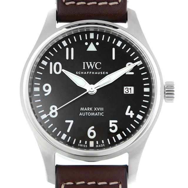 【48回払いまで無金利】IWC パイロットウォッチ マーク18 アントワーヌ・ド・サンテグジュペリ IW327003 メンズ(002NIWAN0046)【新品】【腕時計】【送料無料】