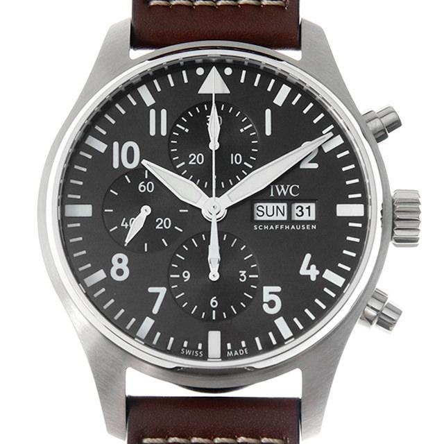 【48回払いまで無金利】IWC パイロットウォッチ クロノグラフ アントワーヌ・ド・サンテグジュペリ IW377713 メンズ(007NIWAN0250)【新品】【腕時計】【送料無料】