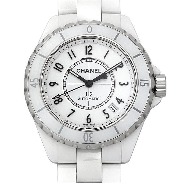 【48回払いまで無金利】シャネル J12 白セラミック H0970 メンズ(0FHMCHAS0001)【未使用】【中古】【腕時計】【送料無料】