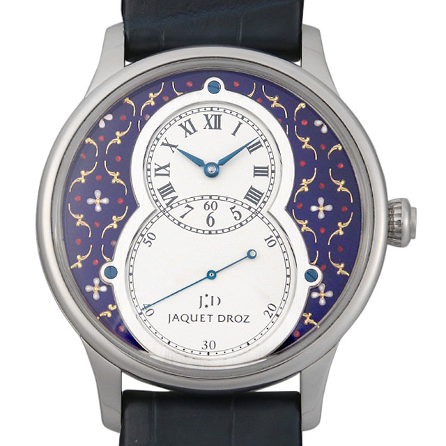 【48回払いまで無金利】ジャケドロー グラン・セコンド パイヨン 世界限定8本 J003034215 メンズ(0014JDAU0001)【中古】【腕時計】【送料無料】