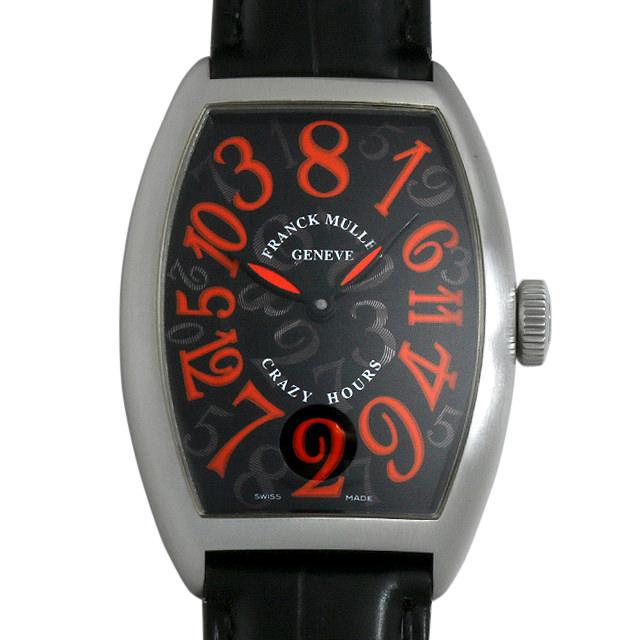 【48回払いまで無金利】SALE フランクミュラー クレイジーアワーズ スペシャルジューン 限定200本 5850CH J AC メンズ(006XFRAU0130)【中古】【腕時計】【送料無料】