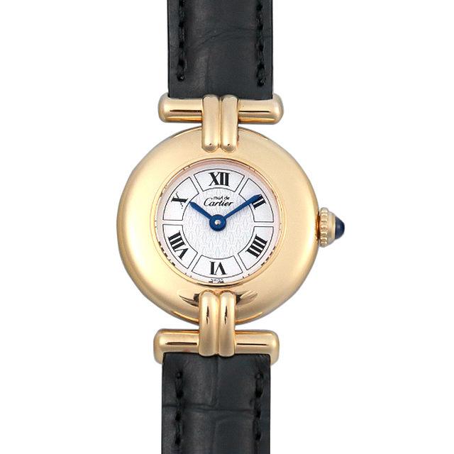 【48回払いまで無金利】カルティエ マストコリゼ W1009954 レディース(007UCAAU0118)【中古】【腕時計】【送料無料】