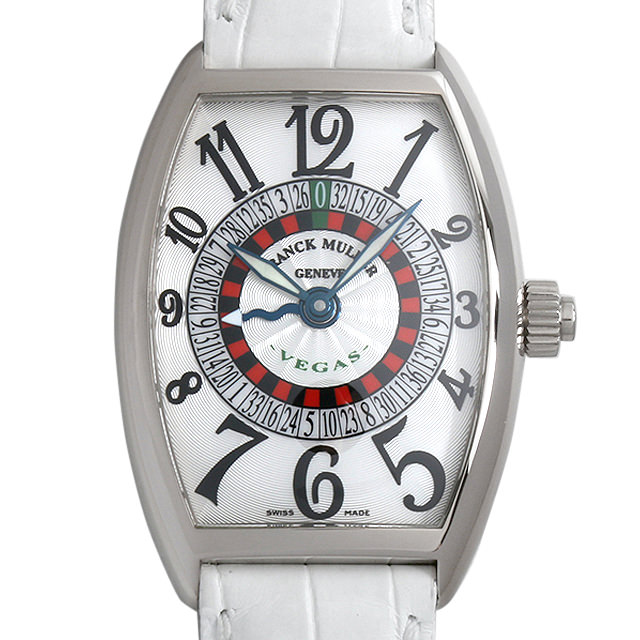 【48回払いまで無金利】SALE フランクミュラー ヴェガス 5850VEGAS OG メンズ(007UFRAU0124)【中古】【腕時計】【送料無料】