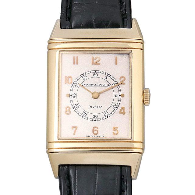 【48回払いまで無金利】ジャガールクルト レベルソ 6184.21 メンズ(007UJLAU0008)【中古】【腕時計】【送料無料】