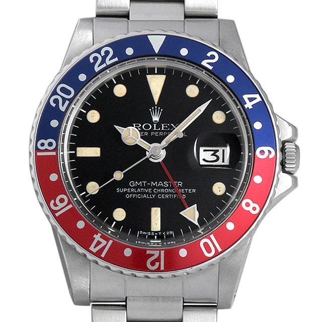 【48回払いまで無金利】ロレックス GMTマスター Cal.1570 51番 1675 メンズ(007UROAA0064)【アンティーク】【腕時計】【送料無料】