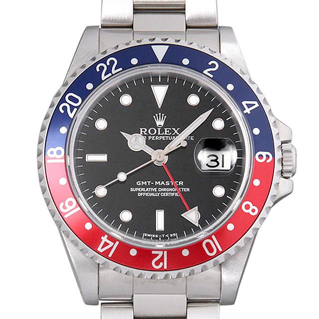 【48回払いまで無金利】SALE ロレックス GMTマスター 赤青ベゼル S番 16700 メンズ(009VROAU0194)【中古】【腕時計】【送料無料】