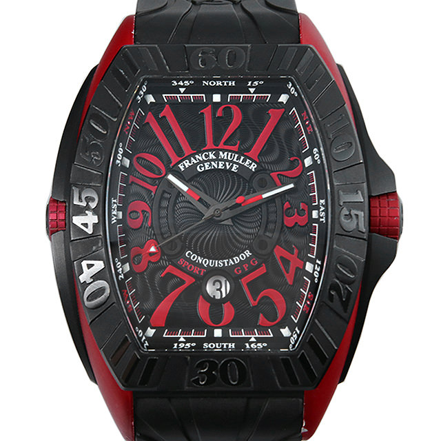 【48回払いまで無金利】フランクミュラー コンキスタドール グランプリ エルガ 9900SC DT GPG ER メンズ(0B4UFRAU0001)【中古】【腕時計】【送料無料】