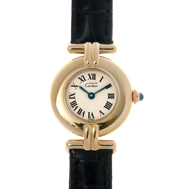【48回払いまで無金利】カルティエ マストコリゼ レディース(0BCCCAAU0011)【中古】【腕時計】【送料無料】