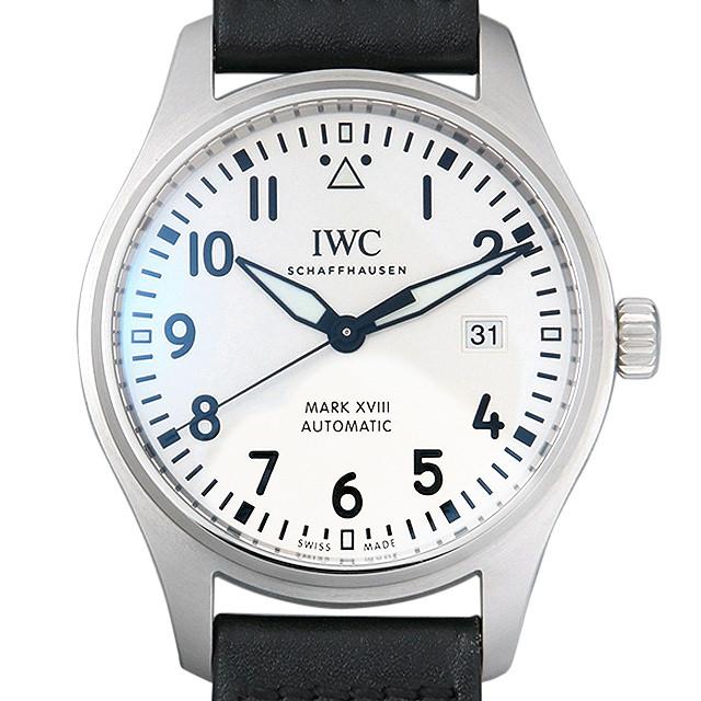 【48回払いまで無金利】IWC パイロットウォッチ マーク18 IW327002 メンズ(0C9RIWAU0001)【中古】【腕時計】【送料無料】